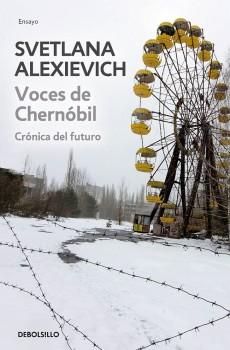 """Portada de la edición en español de """"Voces de Chernobyl"""""""